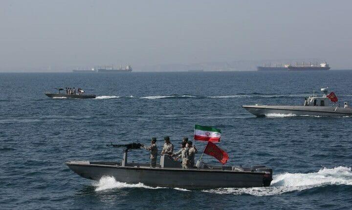 البحرية الإيرانية الإمارات