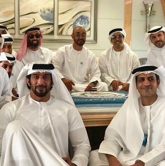 محمد بن زايد وأخوته أبوظبي