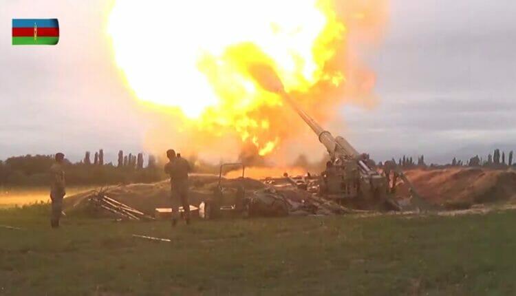 قصف أذربيجاني قره باغ