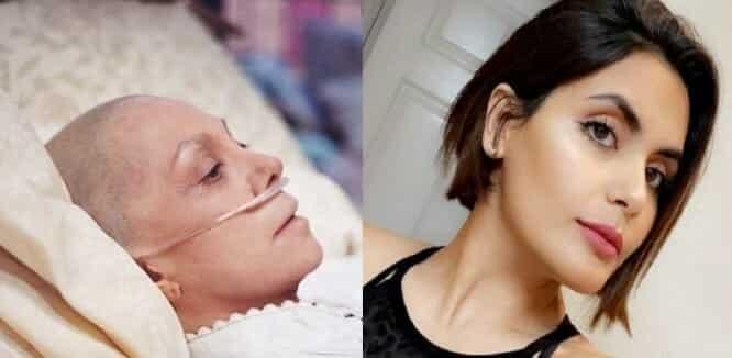 أمل الشهراني تهاجم فتاة مريضة بالسرطان