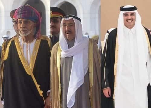 أمير قطر تميم بن حمد يستذكر امير الكويت وسلطان عمان في كلمته بمجلس الشورى الـ49