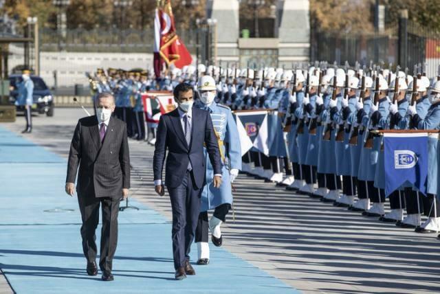 استقبال سلطاني عثماني كبير من أردوغان لأمير قطر وتوقيت الزيارة يشير لأمر هام تستعد له الدولتان