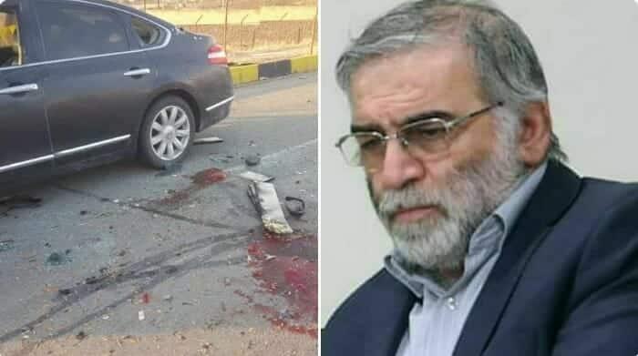 اغتيال العالم النووي الإيراني محسن فخري زاد
