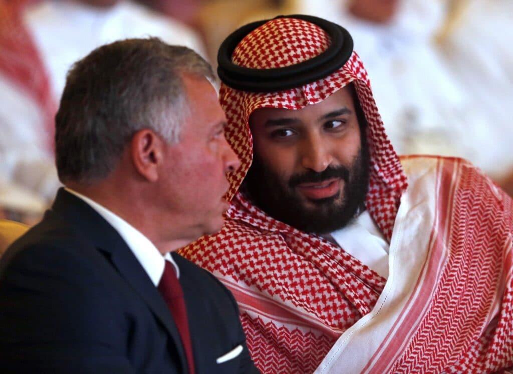 """""""الغارديان"""" البريطانية: هذا ما يخيف الأردن وملكه من اللقاء السري بين محمد بن سلمان و نتنياهو"""