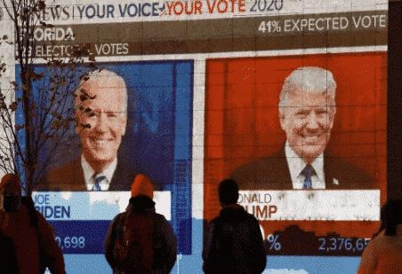 الانتخابات الأمريكية ، دعم حملة ترامب الانتخابية