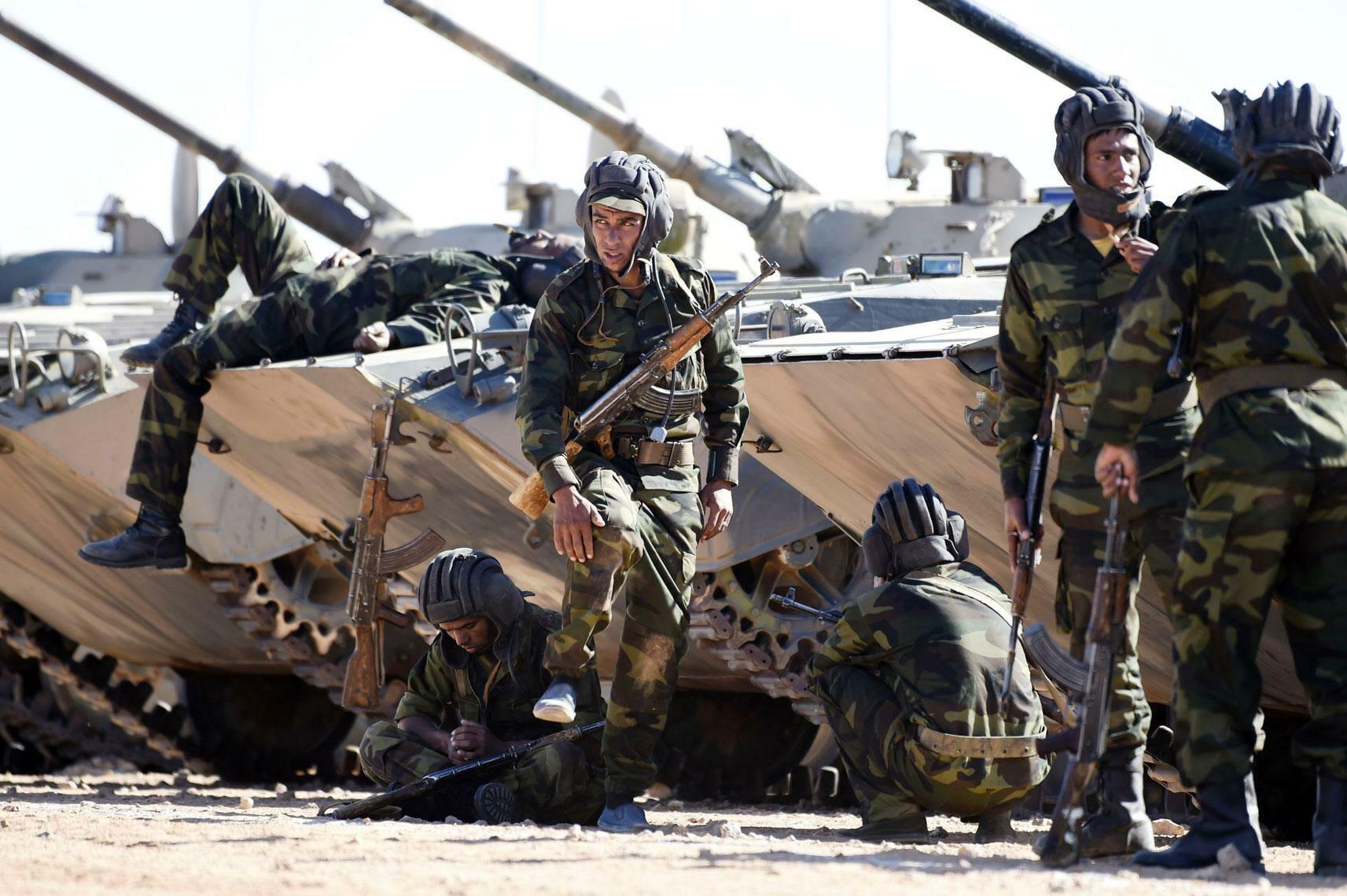 البوليساريو الجيش المغربي