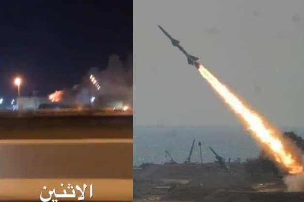 الحوثيون يقصفون أرامكو