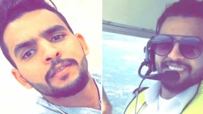 الطيار السعودي عبدالله الشريف
