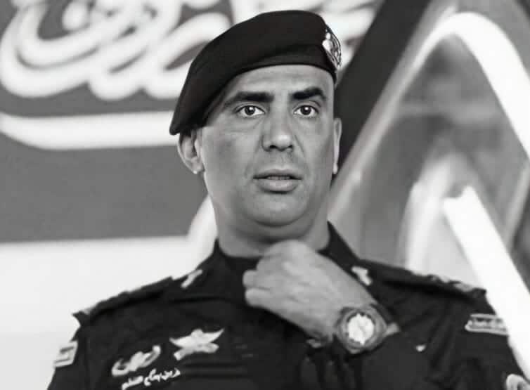 اللواء عبدالعزيز الفغم الحارس الشخصي للملك سلمان بن عبد العزيز
