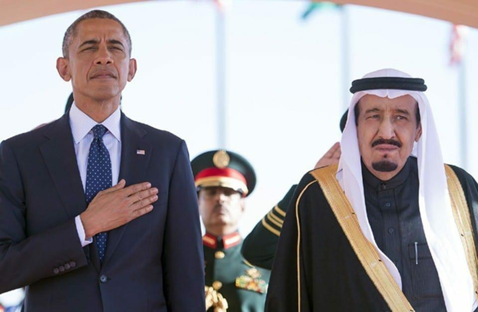 الملك سلمان وباراك اوباما-اوباما ارض الميعاد