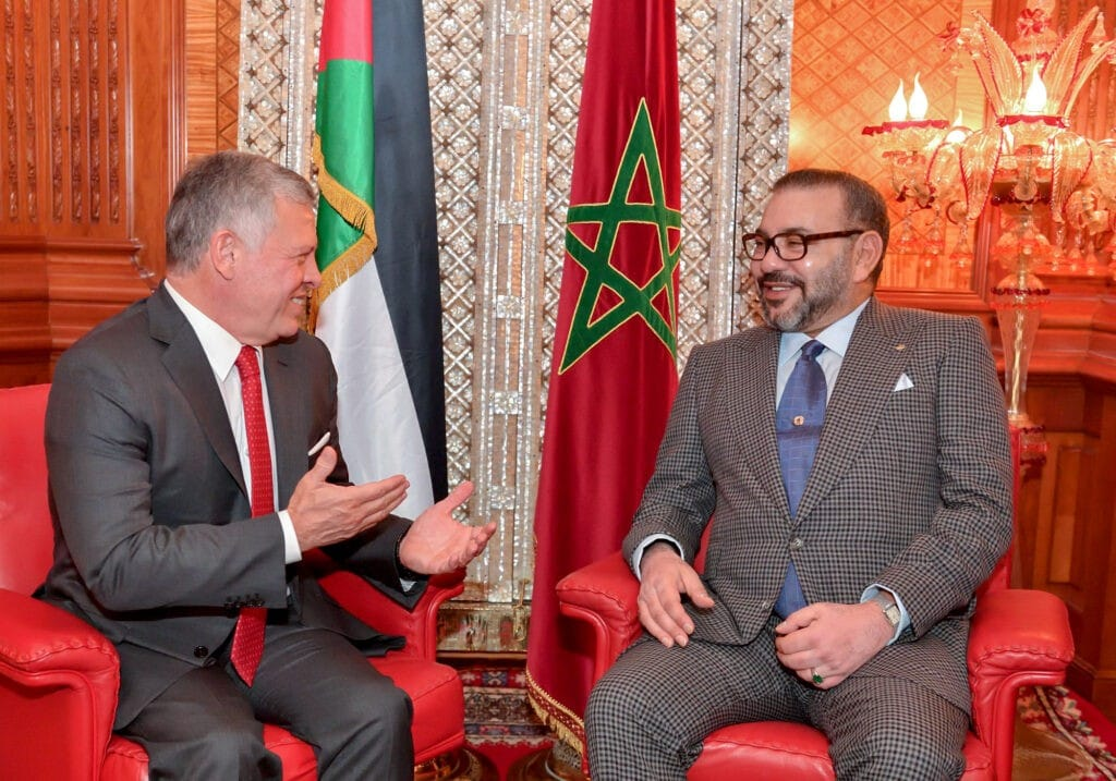 """قرار من الملك الأردني عبدالله الثاني يصدم """"البوليساريو"""" ويؤيد ملك المغرب محمد السادس"""