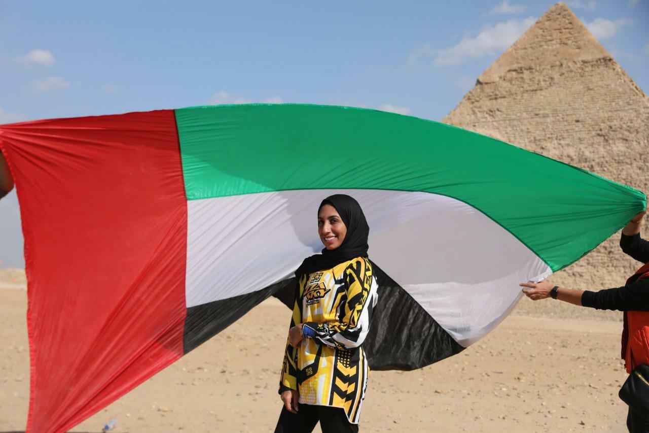 المواطنة الإماراتية شيخة أحمد
