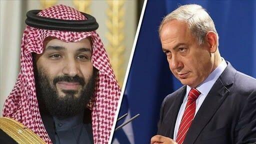 بنيامين نتنياهو ومحمد بن سلمان