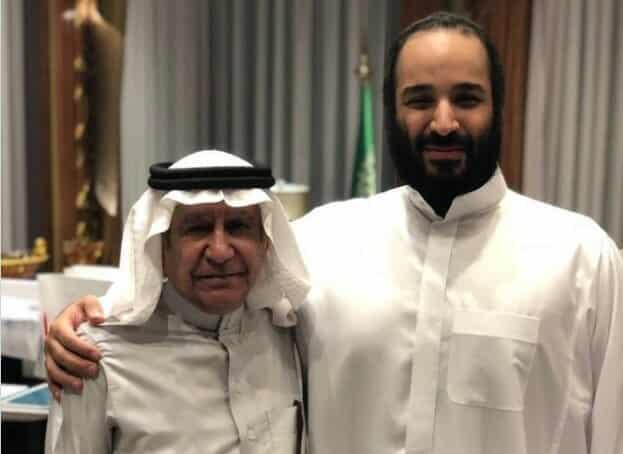 تركي الحمد - محمد بن سلمان