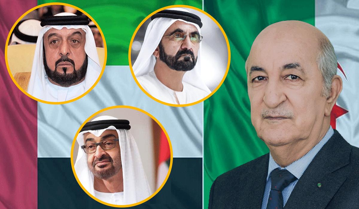 تقارير عن توتر العلاقات بين الجزائر والامارات بعد رسالة تهديد من محمد بن زايد-صالح قوجيل