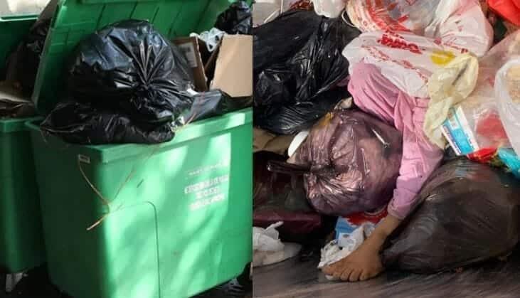 جثة فتاة داخل حاوية تثير ضجة في العاصمة الاردنية عمان