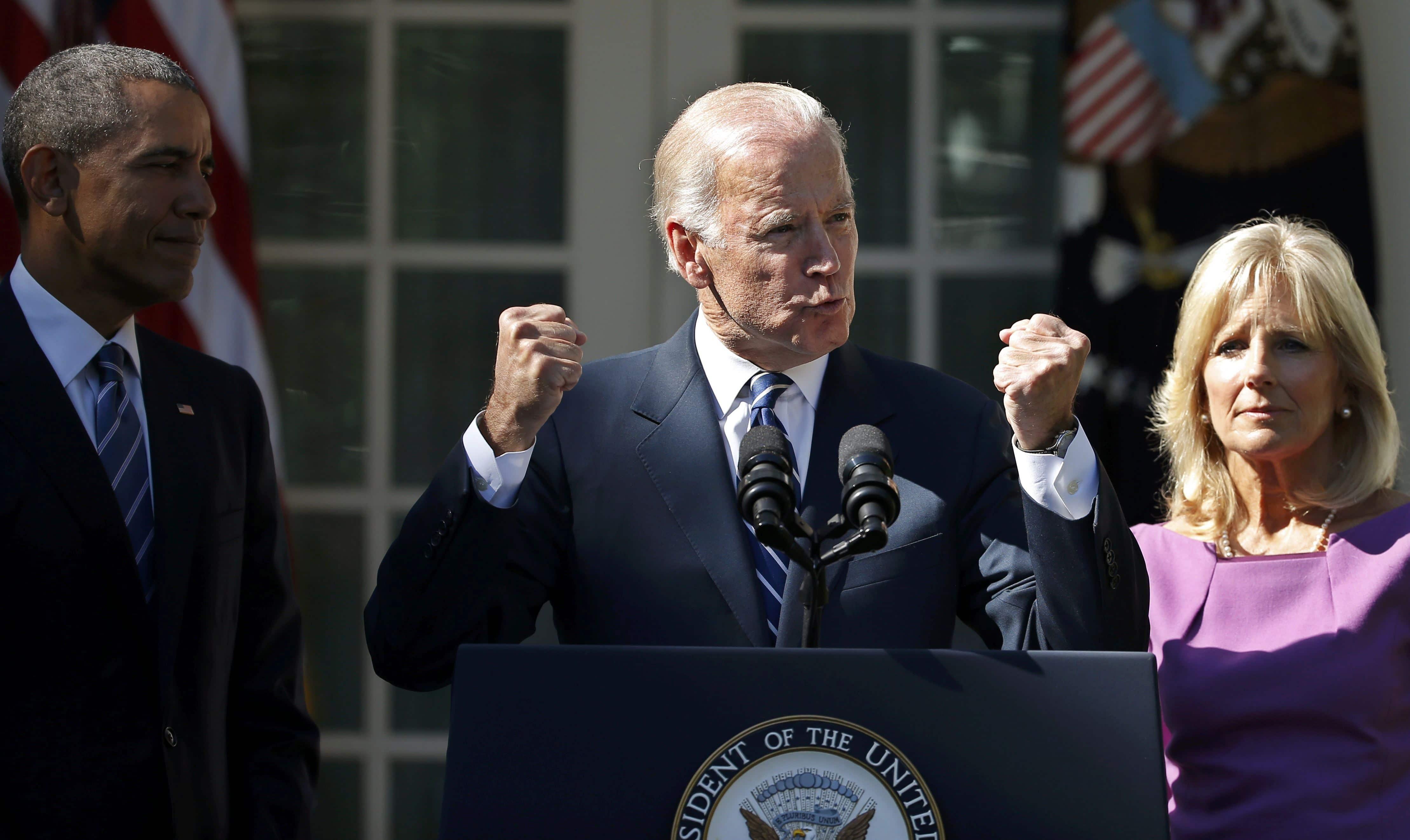 جو بايدن تصريحات