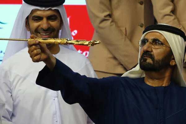 حاكم دبي محمد بن راشد الذي أفقدته الأميرة هيا عقله يدفع 40 ألف دولار لإرضاء سكان عارضوا توسيع فيلته
