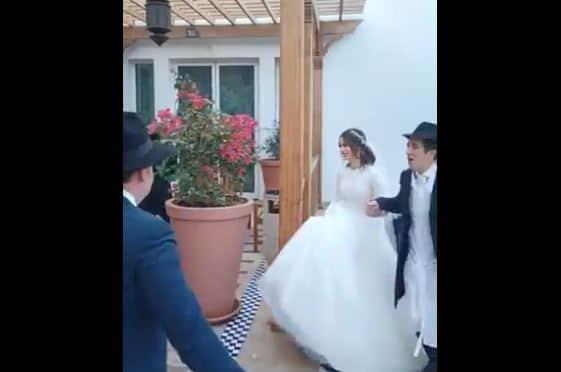 حفل زفاف إسرائيلي في الإمارات