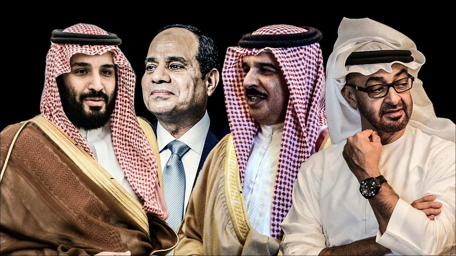 ديفيد هيرست المتآمرون العرب يختلفون