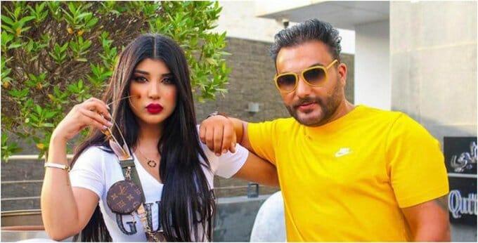 سارة الكندري وزوجها أحمد العنزي