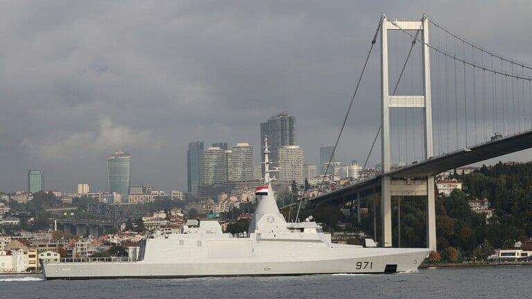 سفن حربية مصرية