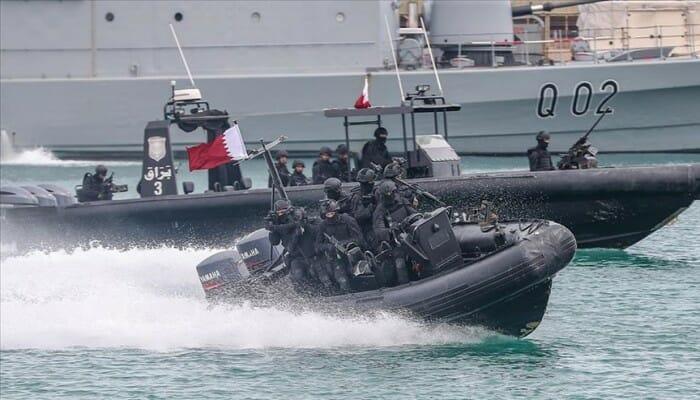 سلاح حرس السواحل القطري- الحدود القطرية