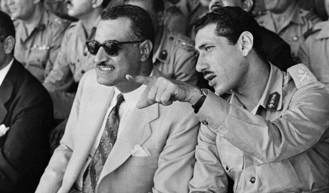 شمس بدران وجمال عبدالناصر