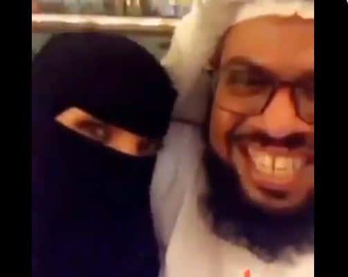 شيخ سعودي يتحرش