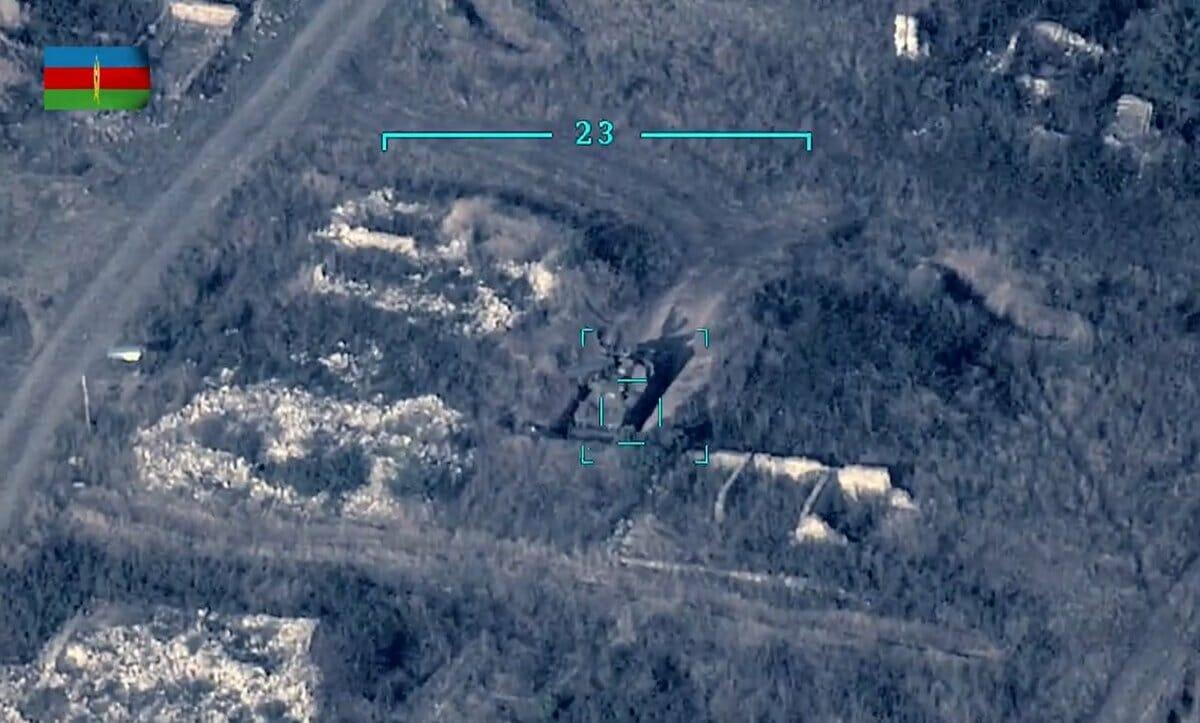 طائرة بيرقدار التركية قصف قره باغ-أرمينيا تستنجد باسرائيل