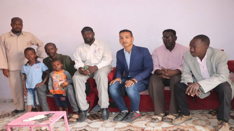 عائلة الطفل السوداني