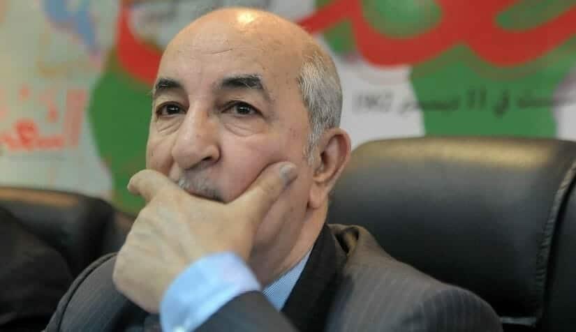 عبد المجيد تبون الرئيس الجزائري عبدالمجيد تبون