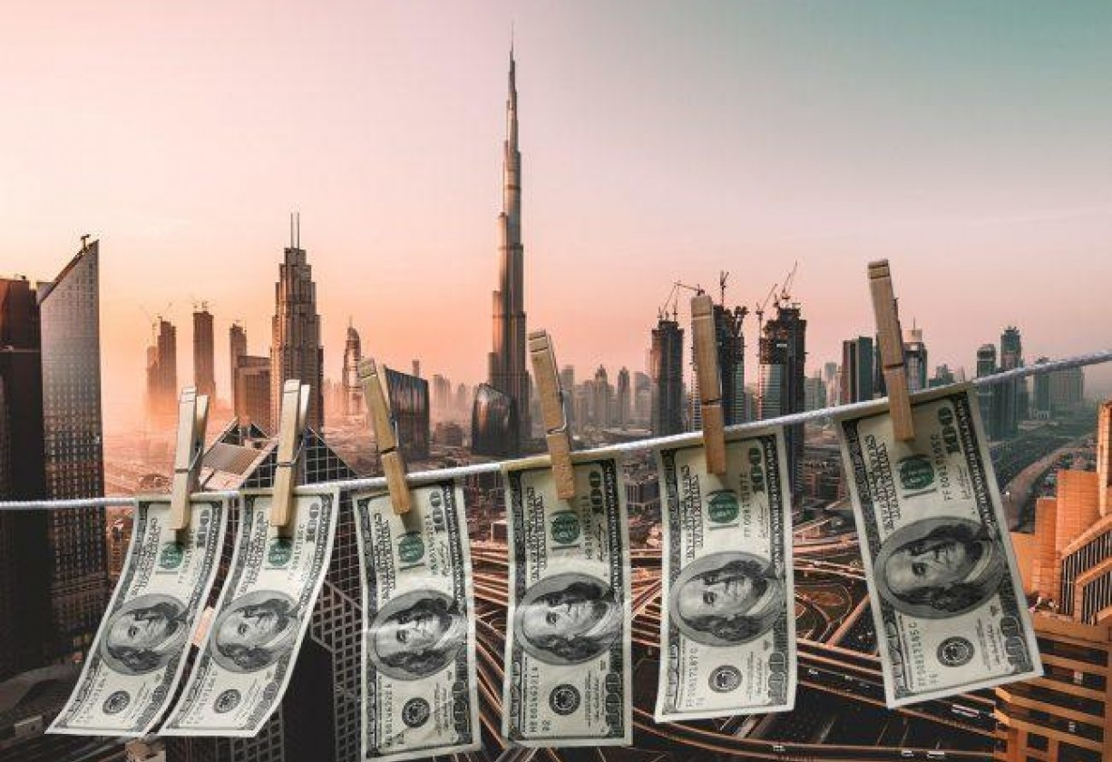 غسيل الأموال في دبي