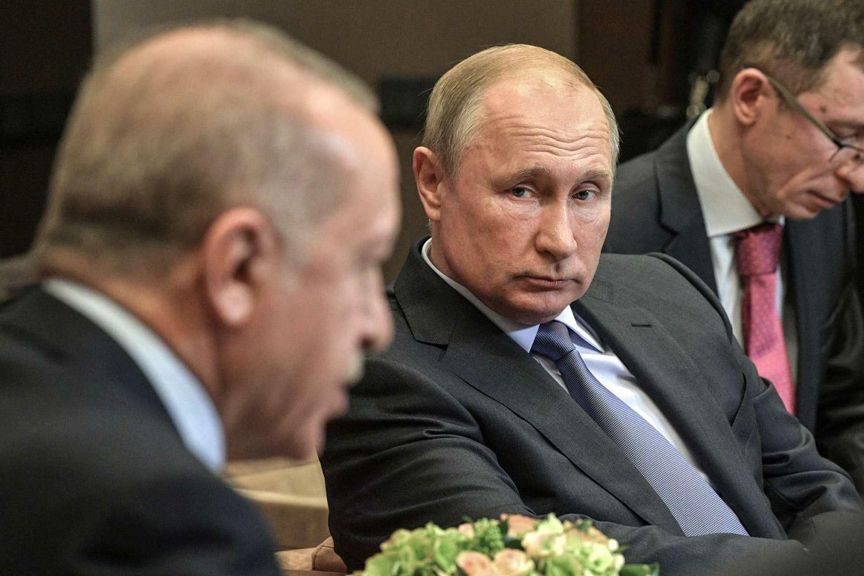فلاديمير بوتين وأردوغان
