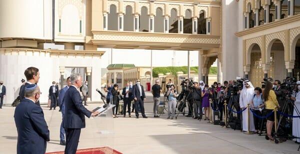 كوشنر في الامارات ، محمد سعيد القبيسي