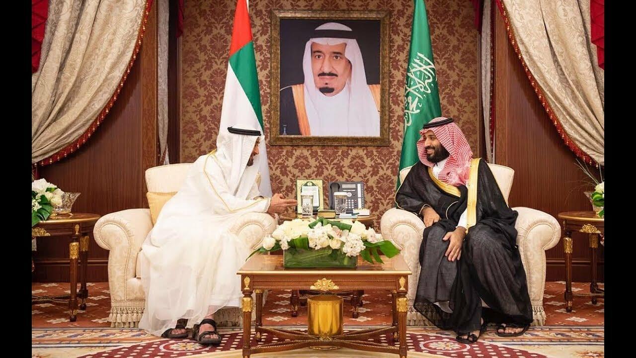 محمد بن زايد ومحمد بن سلمان السعودية والامارات