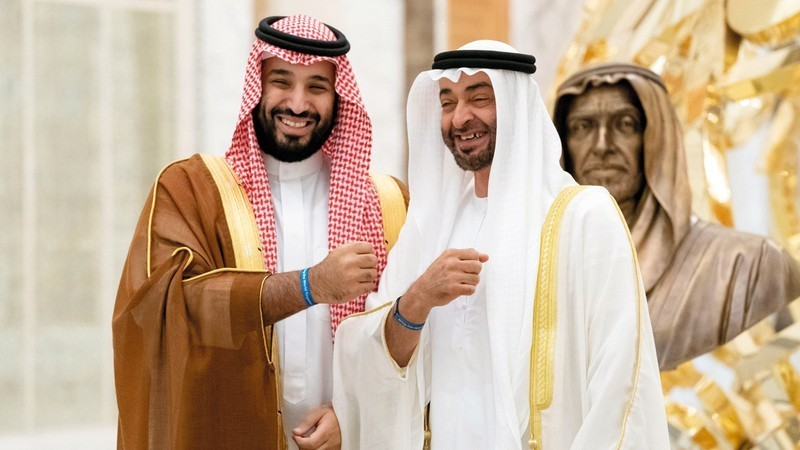 محمد بن زايد ومحمد بن سلمان - وعد