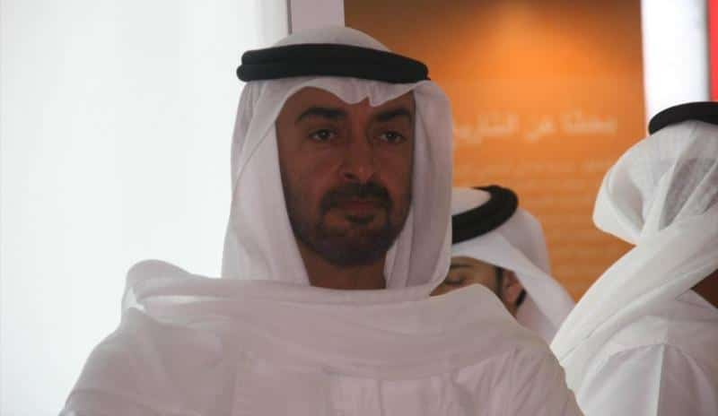 محمد بن زايد ، رجال الأعمال السعوديين الخليجية
