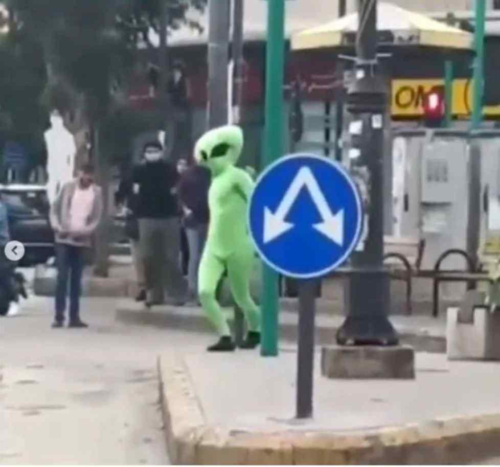 مخلوق فضائي في لبنان
