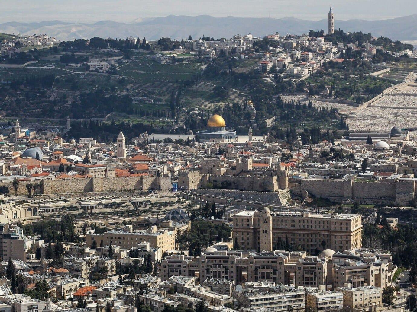 مدينة القدس-بومبيو نتنياهو الزياني