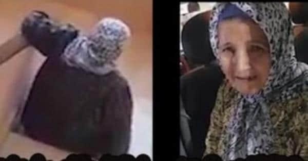 مصري يهين والدته المعاقة