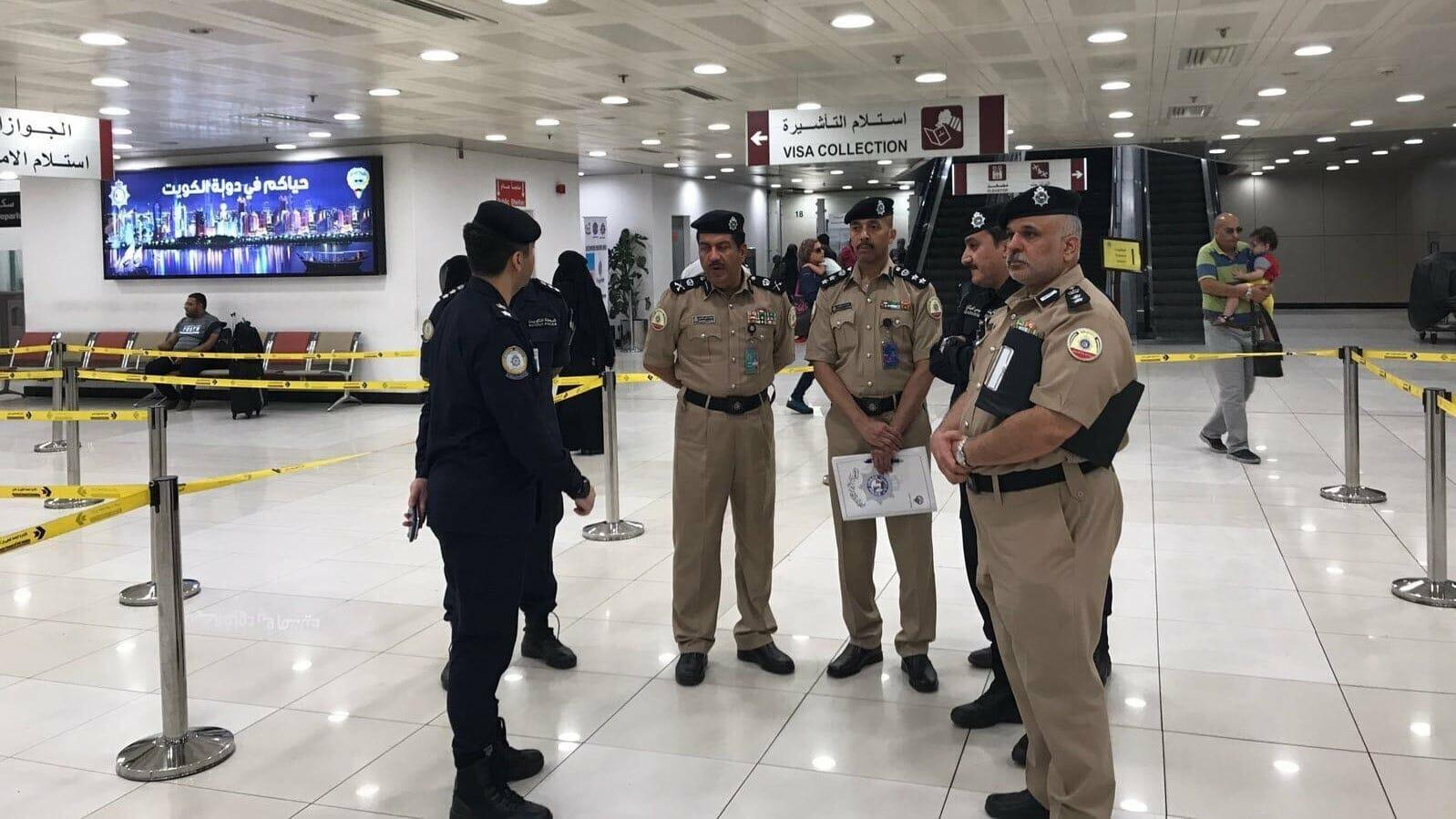 مطار الكويت-