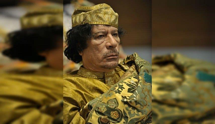 """إعادة تداول تسجيل صوتي مسرب للقذافي يفضح خليفة حفتر """"العميل المزدوج"""""""