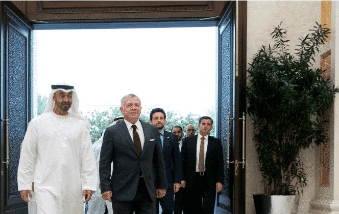 ابن زايد وجه له دعوة عاجلة.. ما سر زيارة ملك الأردن عبدالله الثاني المفاجئة للإمارات؟