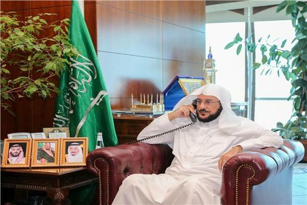 وزير الاوقاف السعودي عبداللطيف آل الشيخ