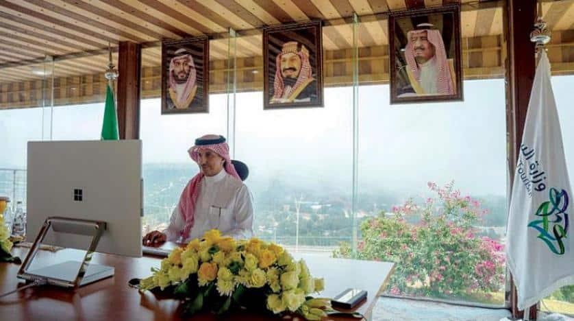 وزير السياحة السعودي