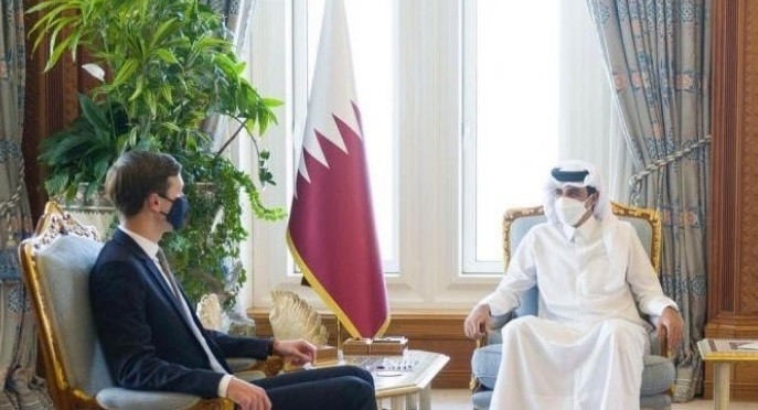 أمير قطر الشيخ تميم بن حمد ليتقي جاريد كوشنر في الدوحة