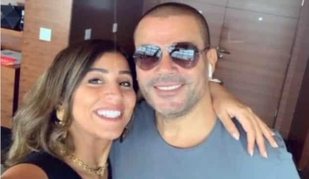أول ظهور للفنانة دينا الشربيني بعد خلافها مع عمرو دياب