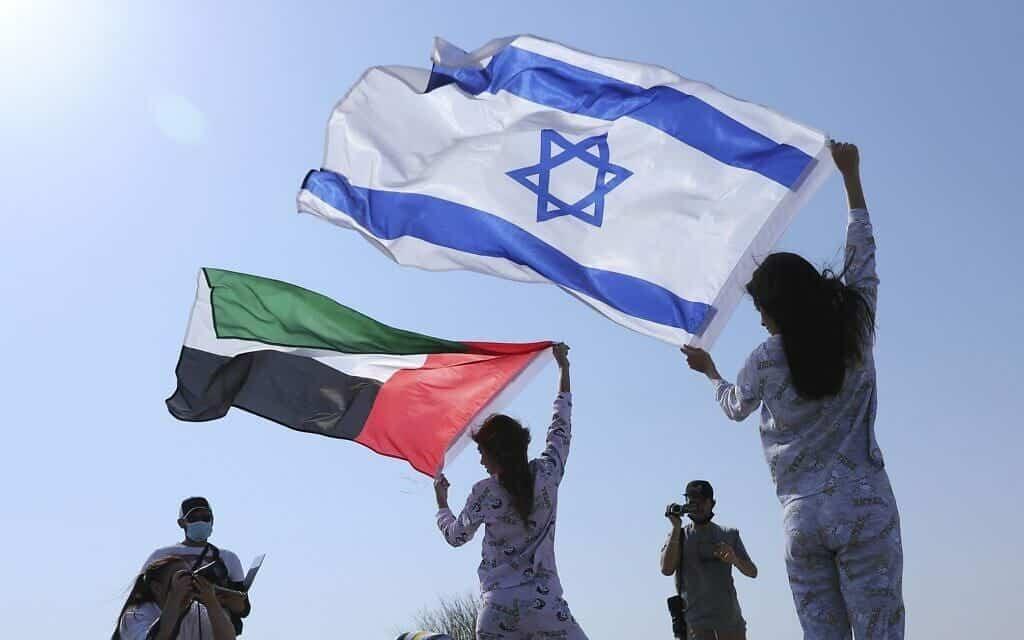 إسرائيليون في الامارات