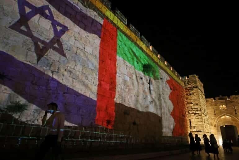 التطبيع الاماراتي الاسرائيلي دبي